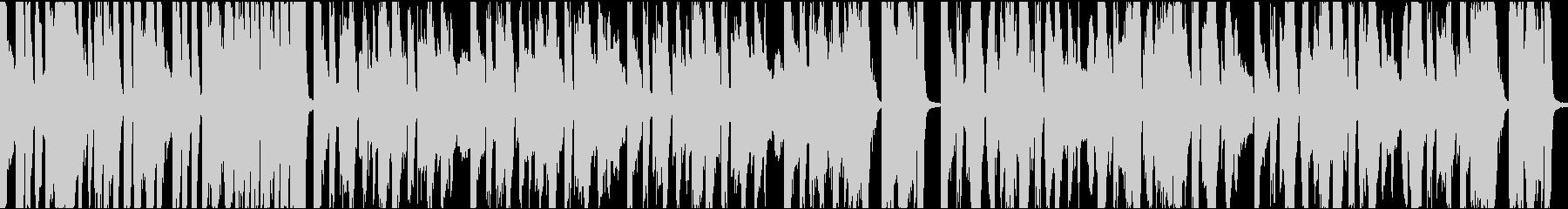 9秒でサビ、インパクトイケイケ/ループの未再生の波形
