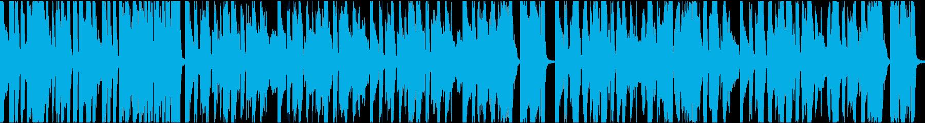 9秒でサビ、インパクトイケイケ/ループの再生済みの波形