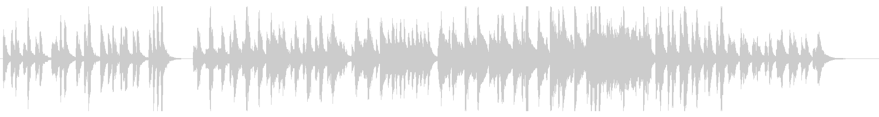 ほのぼの系管楽器アンサンブルの未再生の波形