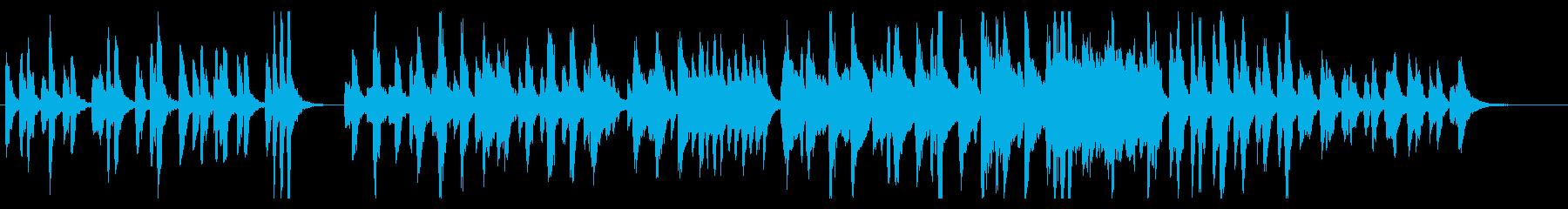 ほのぼの系管楽器アンサンブルの再生済みの波形
