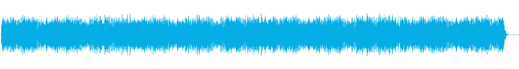 近未来的なスローなメロディポップスの再生済みの波形