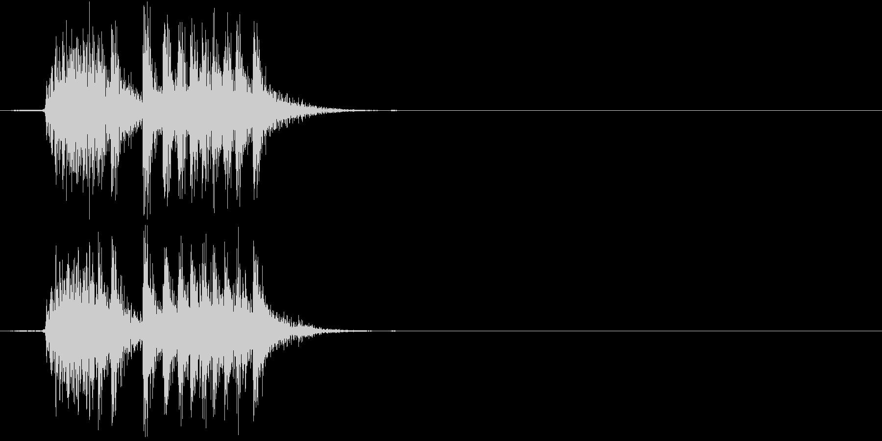 【生録音】 オフィスチェアのきしみ 2の未再生の波形
