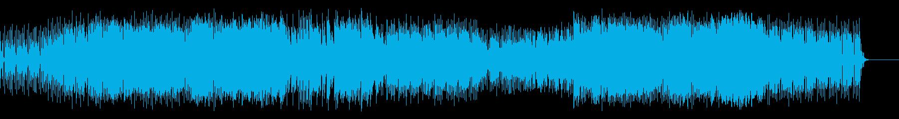 小さな子どもイメージの明るいポップ曲の再生済みの波形