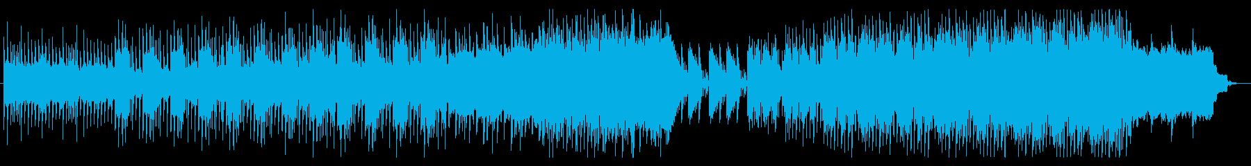 奇妙な実験? サイエンス・実験音楽の再生済みの波形