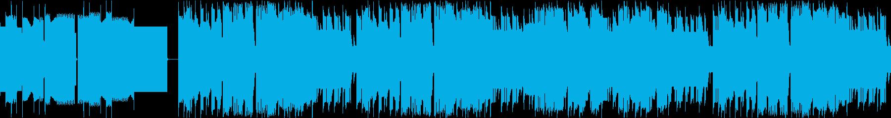 ファミコン風エンディング/チップチューンの再生済みの波形
