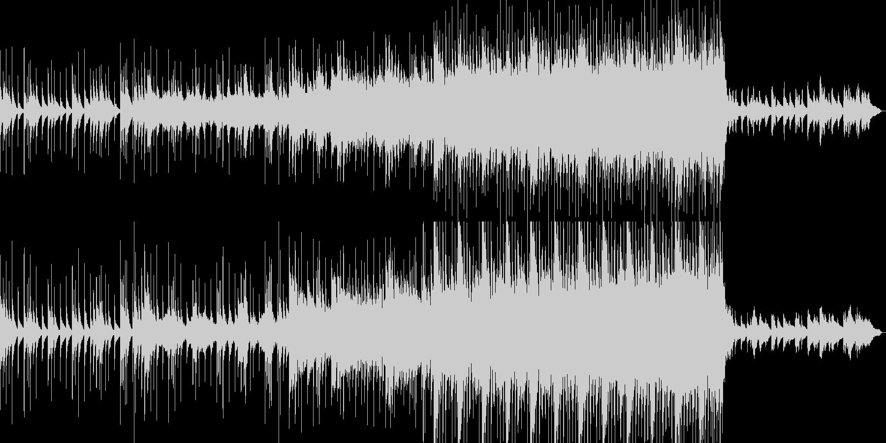 沖縄 琴 優しい曲の未再生の波形