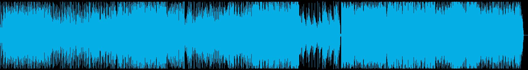 ベースがかっこいい!お洒落なJ-POPの再生済みの波形