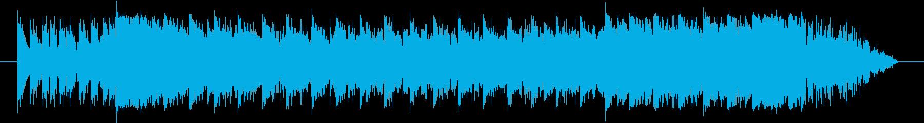 EDM ジングル CM スポット 15秒の再生済みの波形
