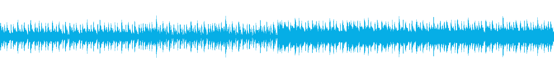 覚醒、目覚めのイメージのEDMの再生済みの波形