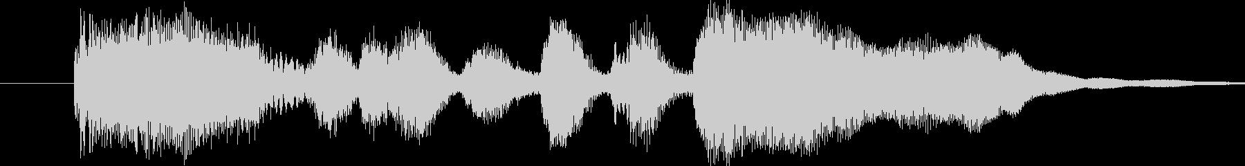 ファンファーレ シンプル ステージクリ…の未再生の波形