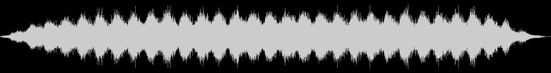 ヨガとマッサージ。ゆっくりと長い波。の未再生の波形