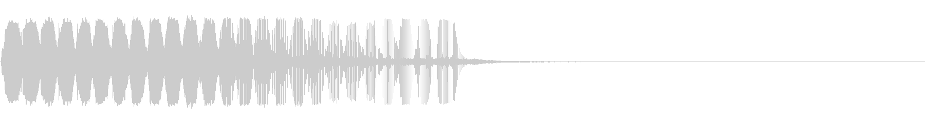 サックスの効果音5 作業中 ころころの未再生の波形