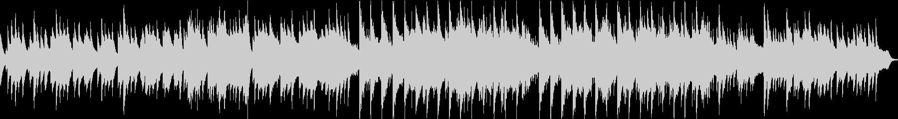 ピアノの旋律が切ない6/8拍子の未再生の波形