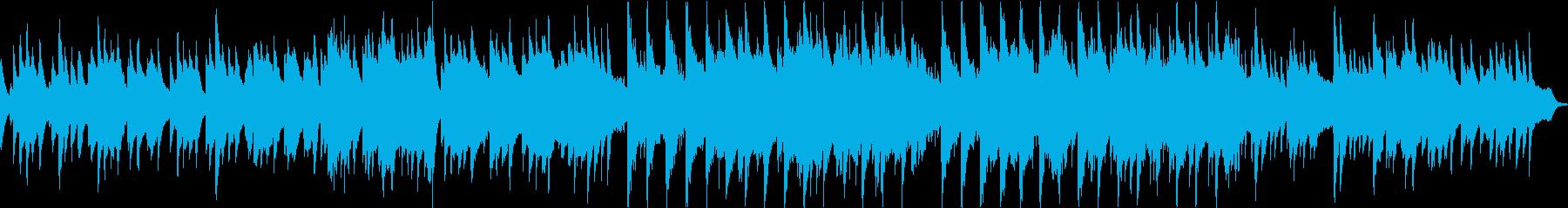 ピアノの旋律が切ない6/8拍子の再生済みの波形