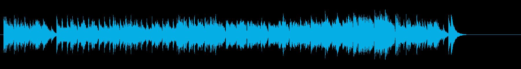 中華風、雑技団のB.G.M.風の再生済みの波形