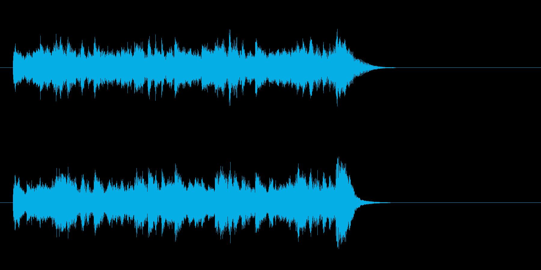 ワルツなセミクラ風ポップ(イントロ)の再生済みの波形
