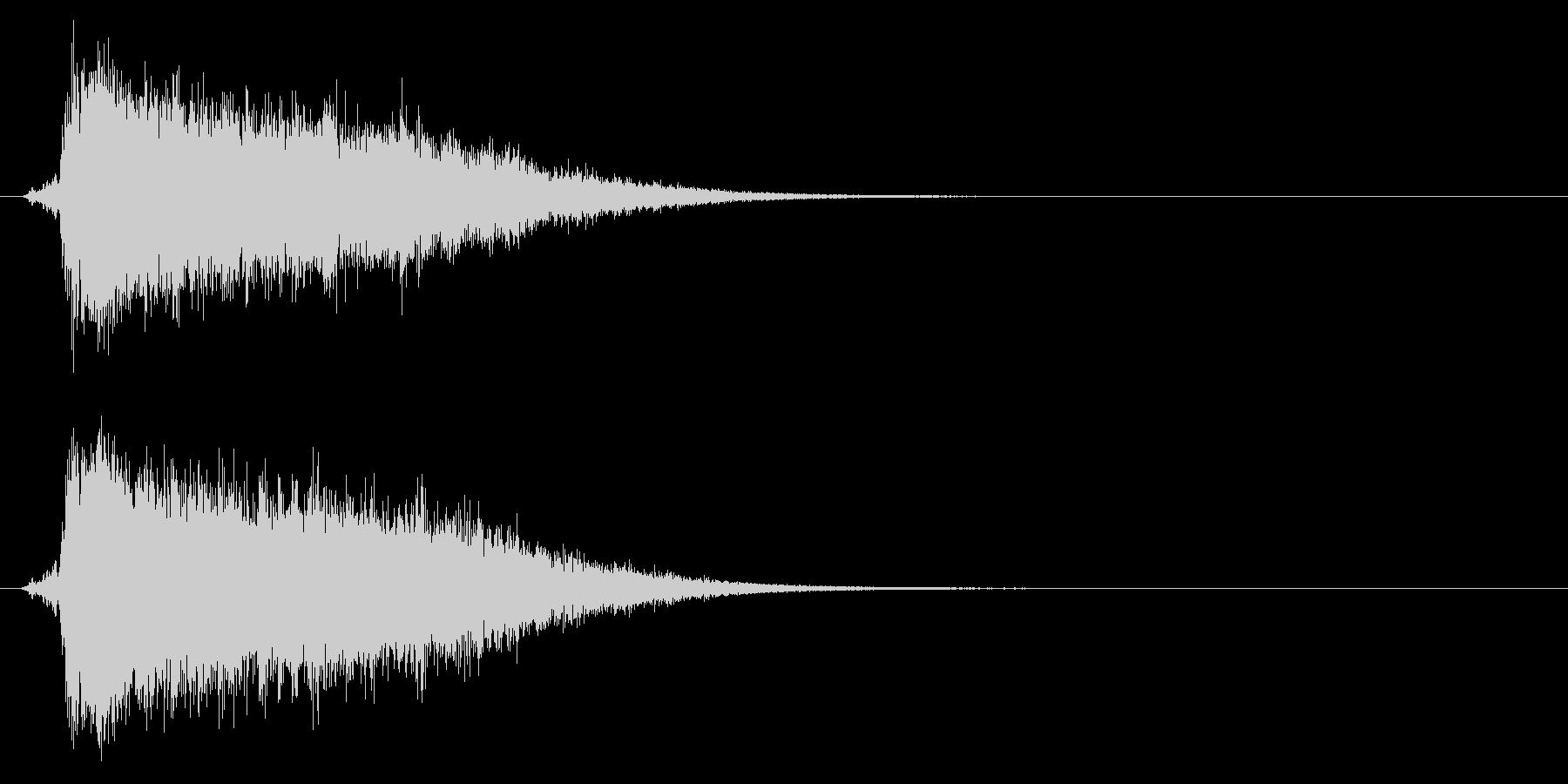 氷が砕ける音・氷系の魔法SE(中レベル)の未再生の波形