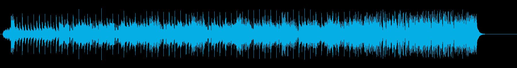 打撃系サウンドのエレクトリック・ポップスの再生済みの波形