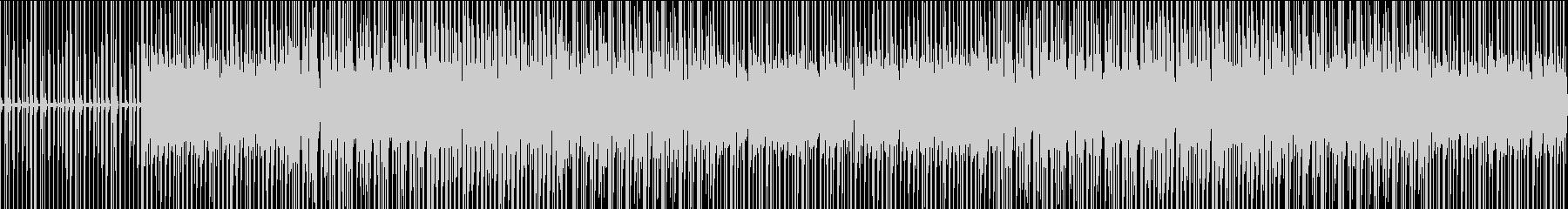 4小節のラップバトル2の未再生の波形