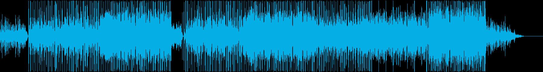 piano旋律が印象的なR&B風バラードの再生済みの波形