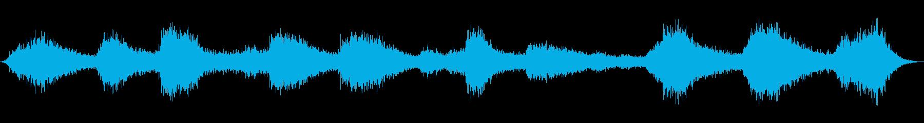 波、ビッグ、サーフ、水; DIGI...の再生済みの波形