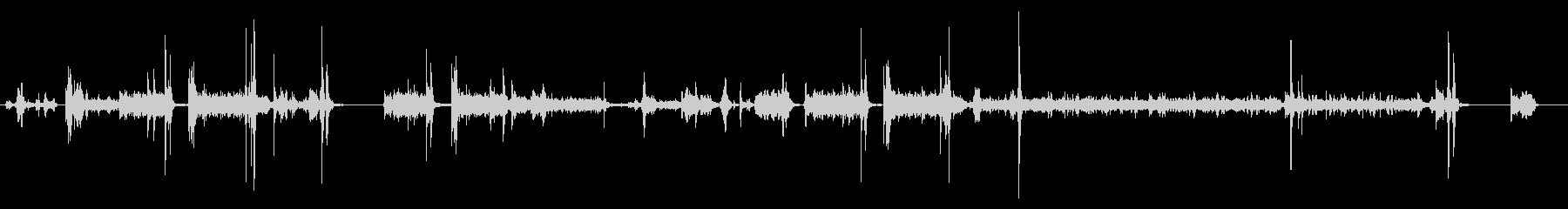 プリンター02-07(クリーニング)の未再生の波形