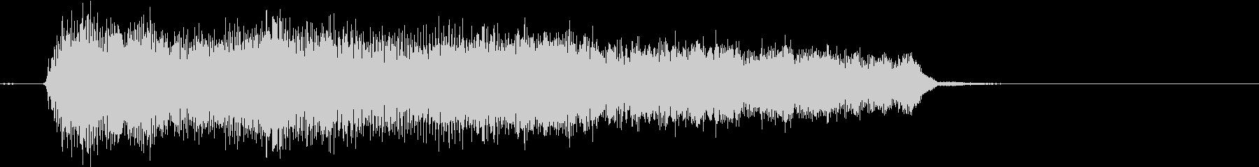 ジャズコードを女声コーラスでの未再生の波形