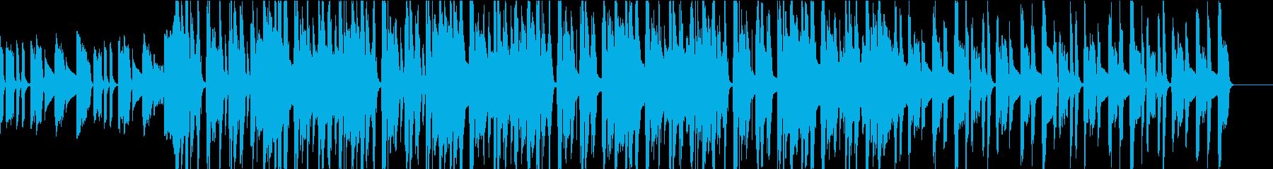 低音がバキバキうねるFUNKYサウンドの再生済みの波形