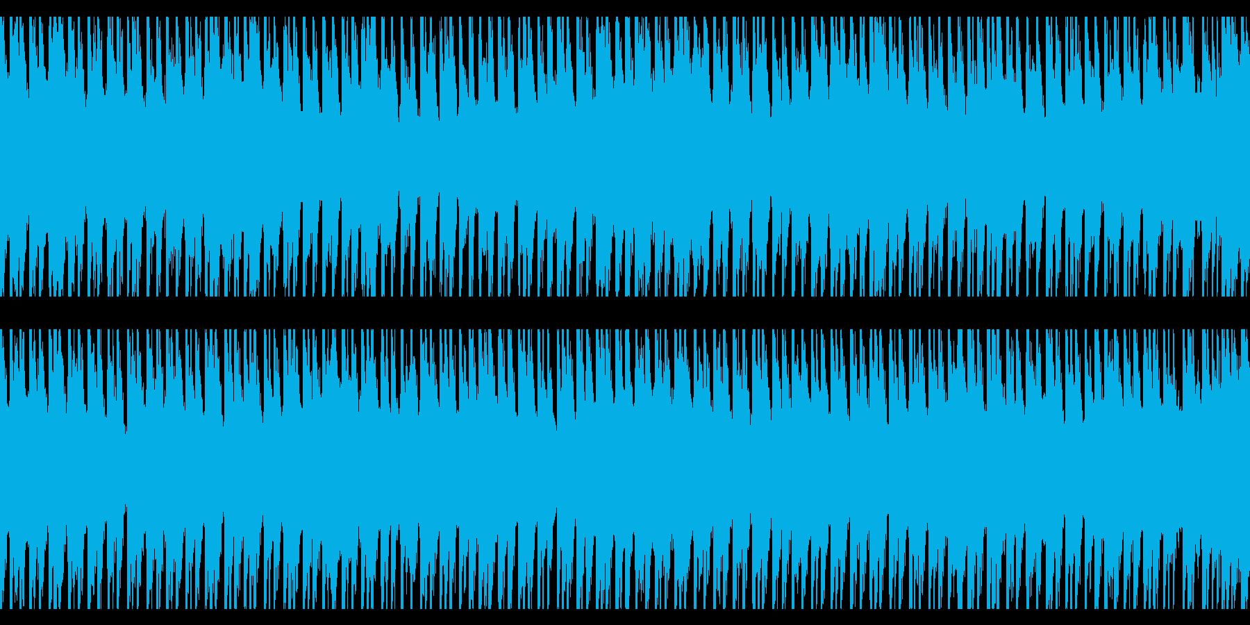 ハッピーサニーデイズ(ループ)の再生済みの波形