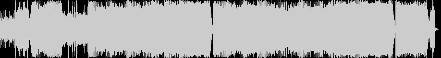 80年代のメガヒット洋楽をイメージの未再生の波形