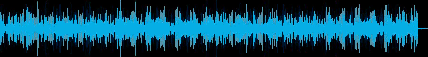 モダンなシーンに合う楽曲 エレクトロ系の再生済みの波形