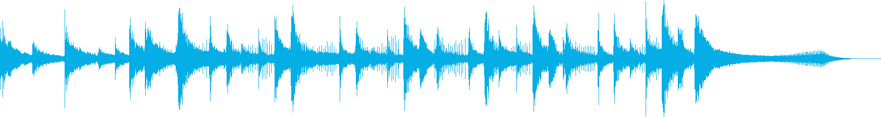 サンドアンドサン、ミディアムテンポ...の再生済みの波形