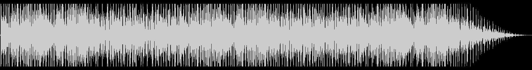 揺らめくようなローファイR&Bの未再生の波形
