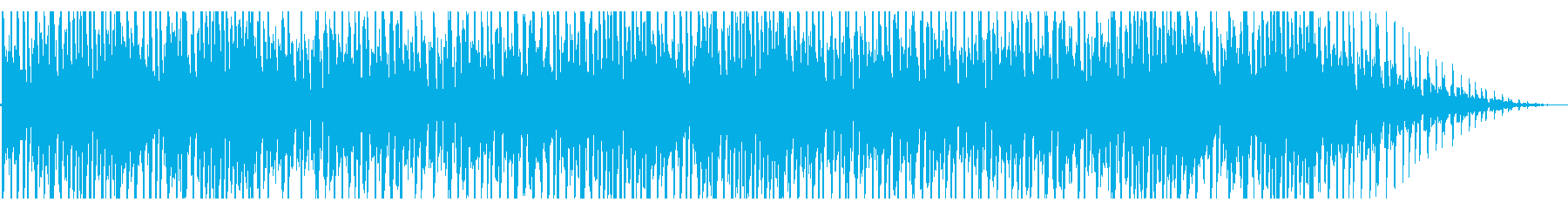 揺らめくようなローファイR&Bの再生済みの波形
