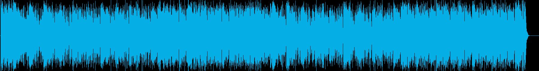 サックスによる大人なフュージョンの再生済みの波形