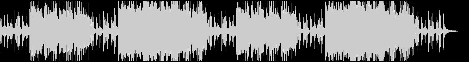 きらびやかなピアノストリングス感動系の未再生の波形