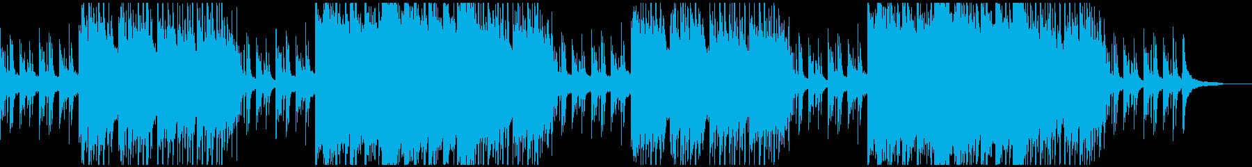 きらびやかなピアノストリングス感動系の再生済みの波形
