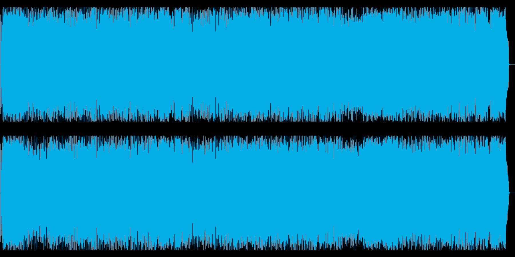 めちゃんこかっこいいアンチ「炎上」ロックの再生済みの波形