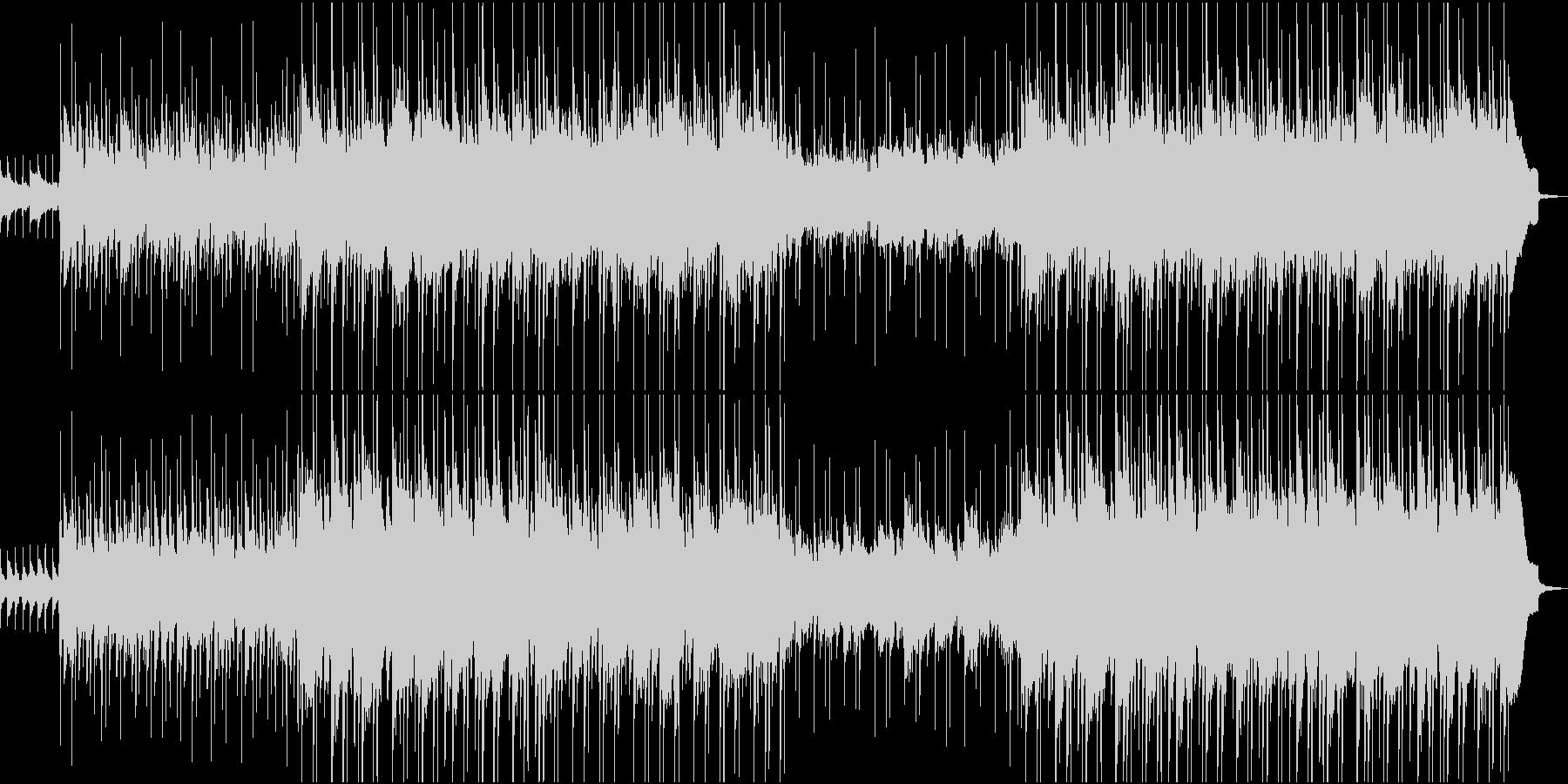 可愛らしいウクレレポップスの未再生の波形