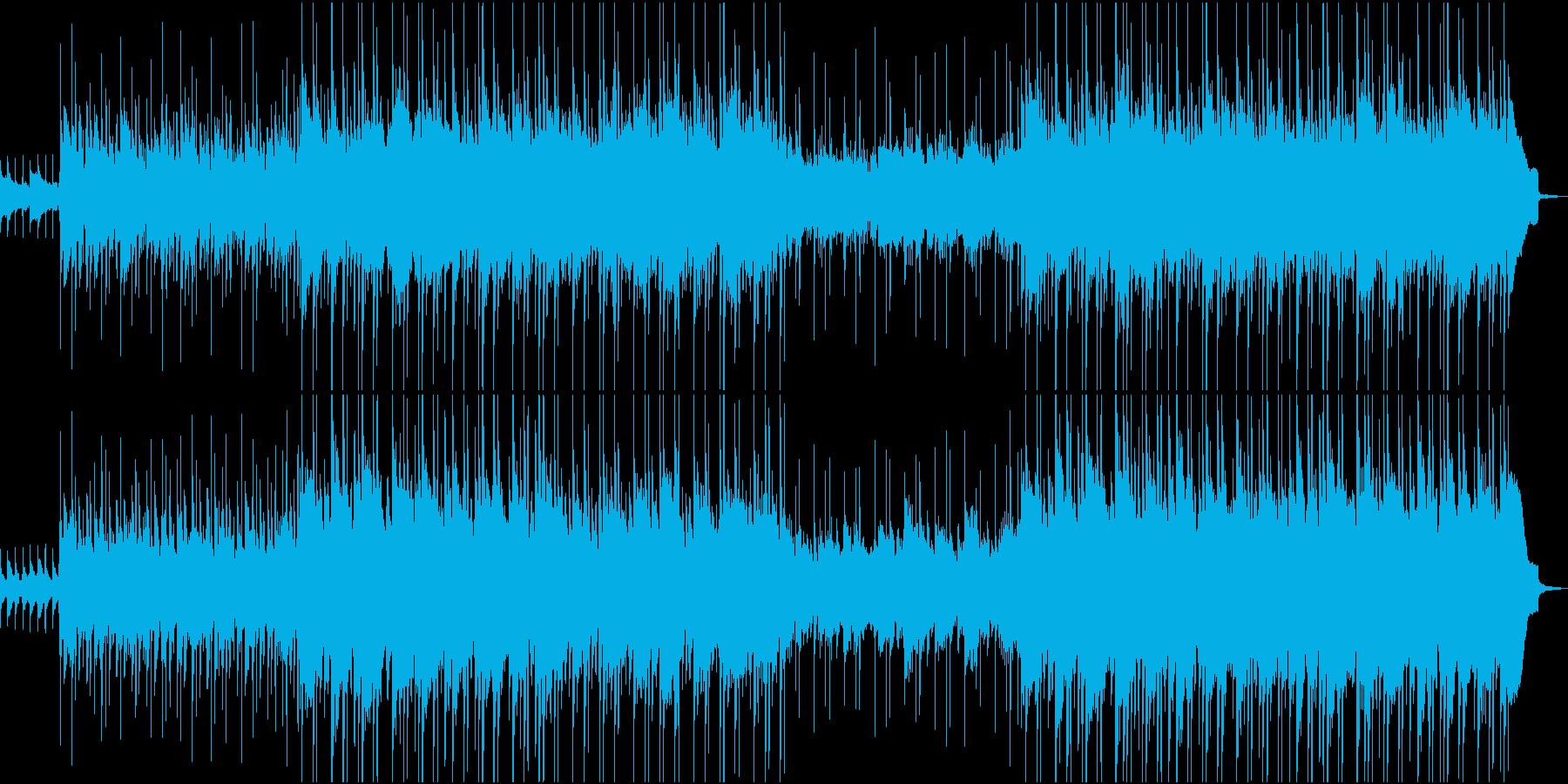 可愛らしいウクレレポップスの再生済みの波形