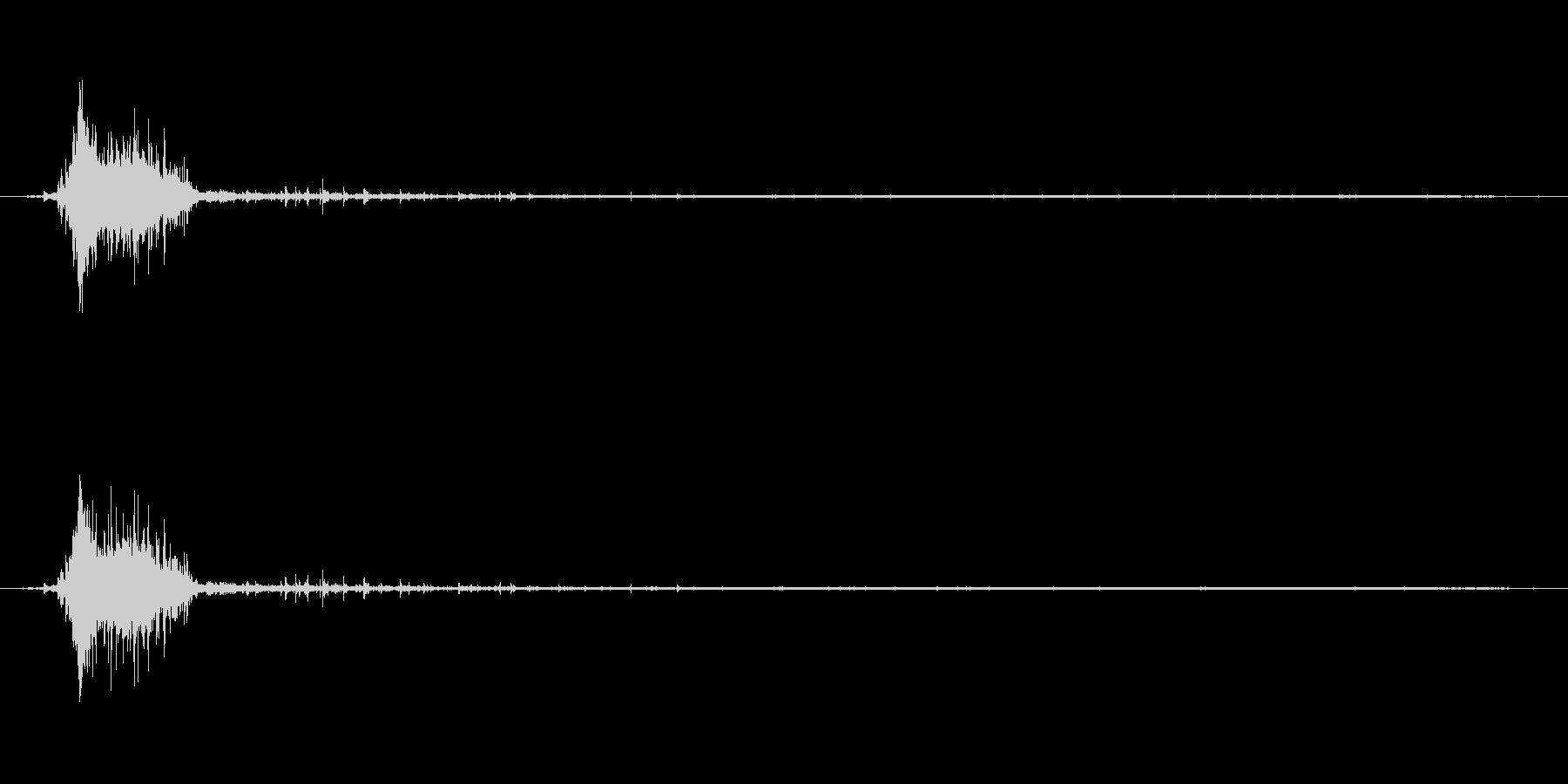 水 トイレフラッシュショートフルイ...の未再生の波形