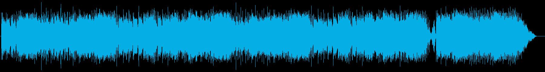 モデルルーム用BGMの再生済みの波形