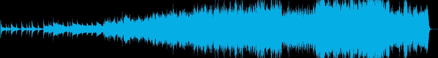 壮大なオープニング ピアノ+ストリングスの再生済みの波形