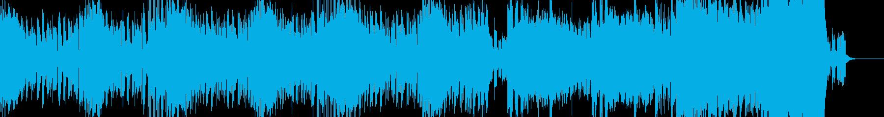 短めなテクノの再生済みの波形