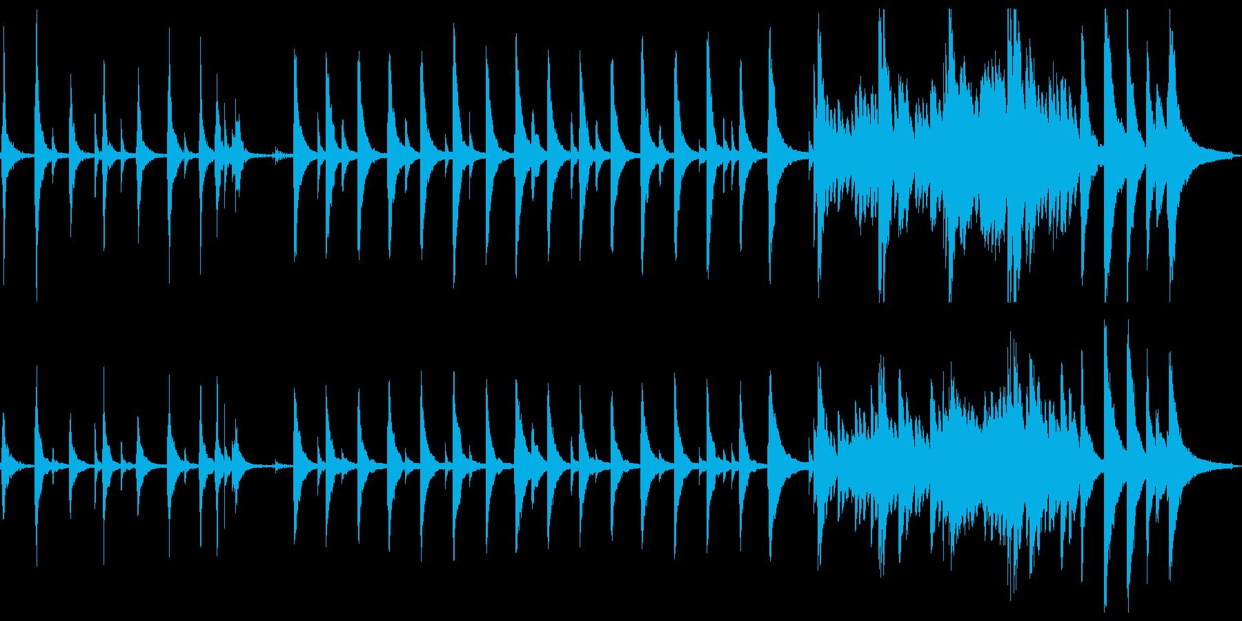 切なく幻想的なゆったりピアノソロの再生済みの波形