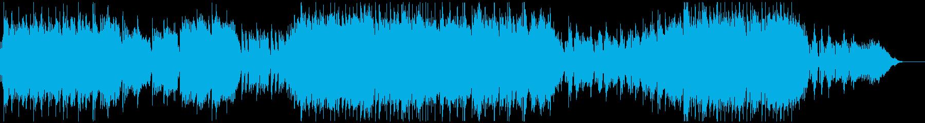 尺八/篠笛による壮大で感動的な和風BGMの再生済みの波形