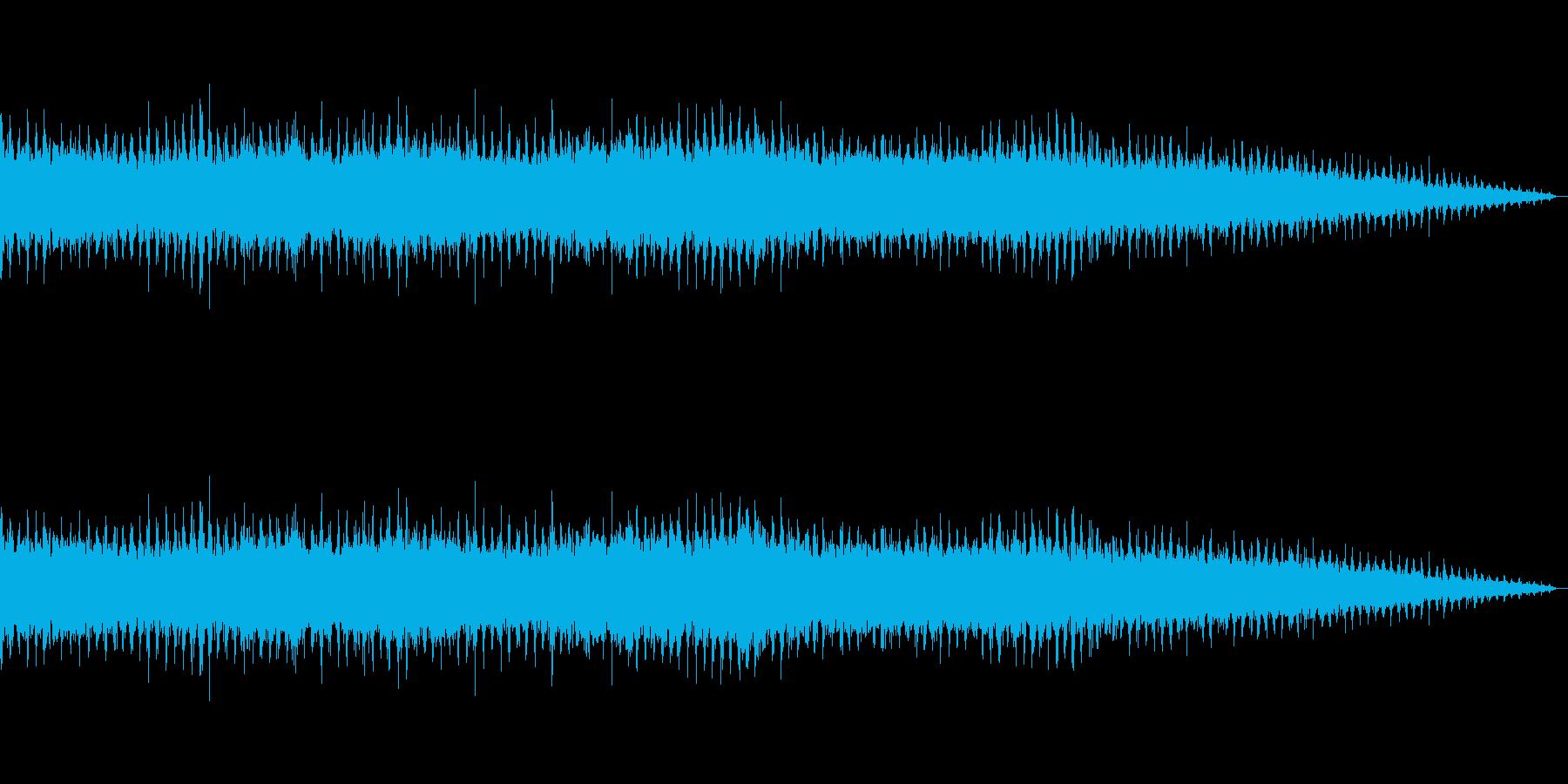 ヘリコプター/プロペラ/エンジン音!02の再生済みの波形