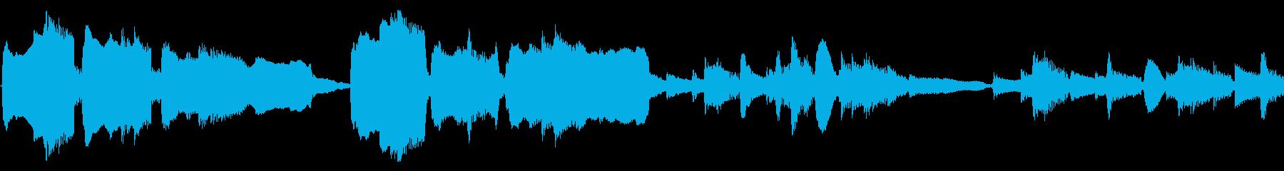 アコギとオカリナ生音ループ/ファンタジーの再生済みの波形