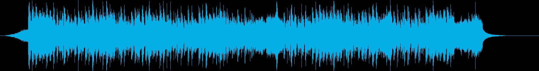 美しくメロウなFuture Bass_cの再生済みの波形