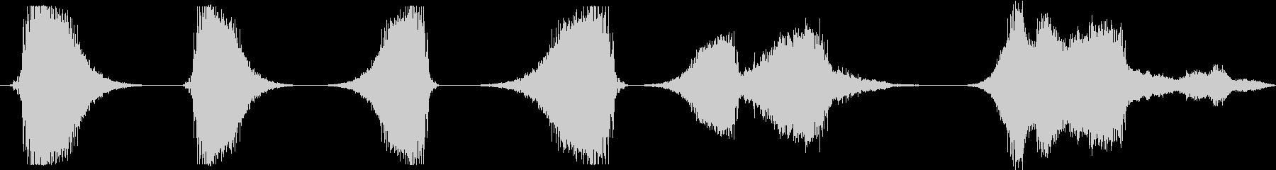 GRITTYアグレッシブスペースウ...の未再生の波形